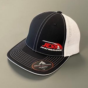 Black and white JP hat